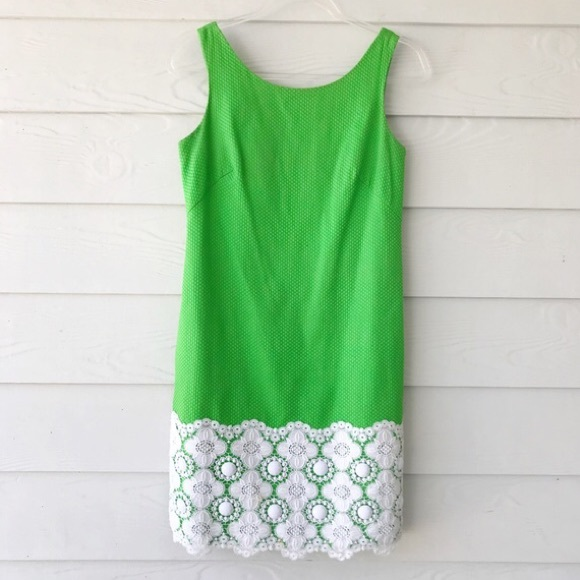 Lilly Pulitzer Dresses & Skirts - Lilly Pulitzer Jubilee Kelly Green Shift Dress